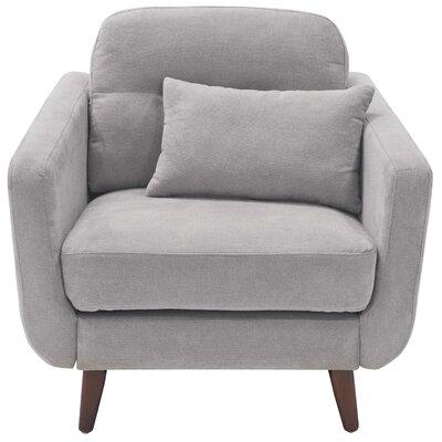 Elle Decor Armchair Upholstery Light Gray