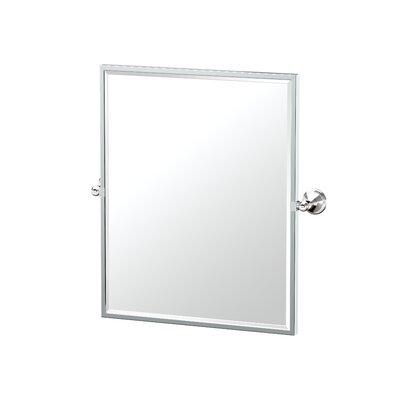 Gatco Ave Bathroom Vanity Mirror Polished Nickel