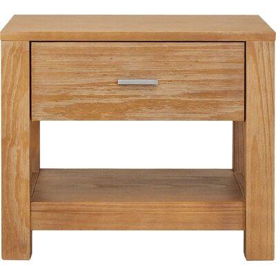 Grain Wood Nightstand Drawer Bedside Tables