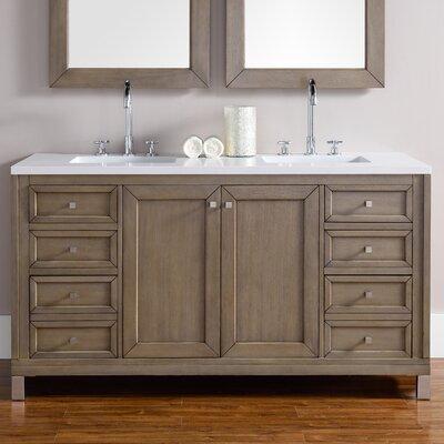 Brayden Studio Double Bathroom Vanity Set Top Top