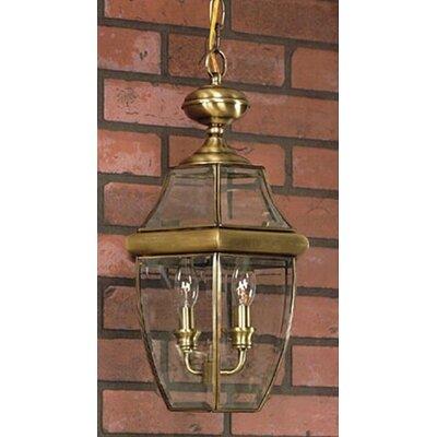Three Posts Brass Hanging Lantern Light Hanging Lights