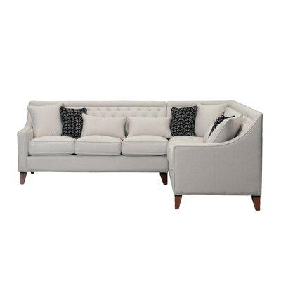 Willa Arlo Interiors Sectional Solid Corner Sofas