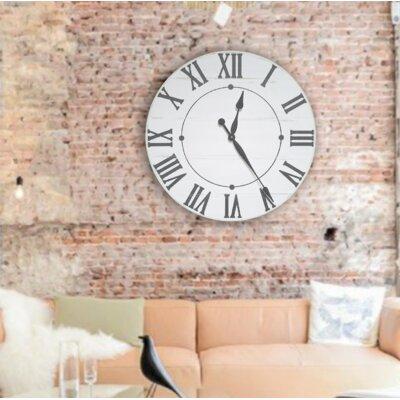Darby Home Farmhouse Wall Clock Neal Wall Clocks