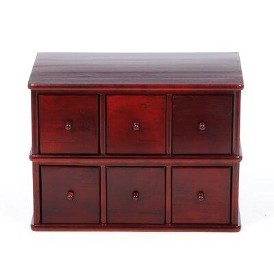 Alcott Hill Multimedia Tabletop Drawer Storage Rack Modular Entertainment Furniture
