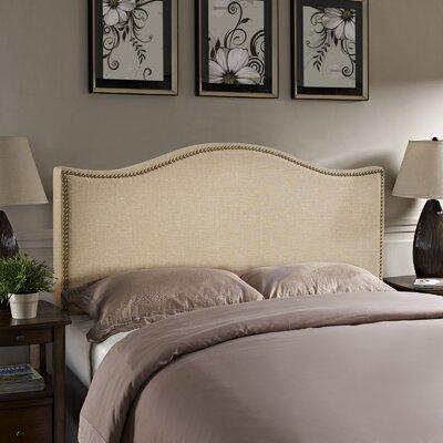 Charlton Home Upholstered Headboard Curl Headboards