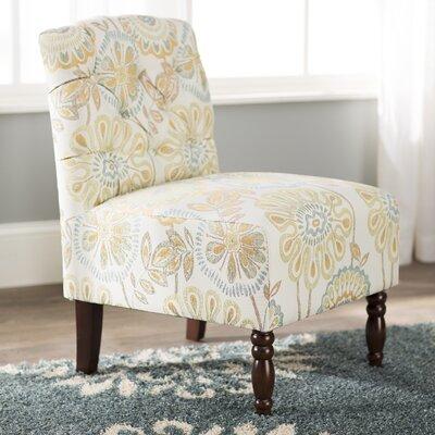 Charlton Home Slipper Chair Tufted Chairs