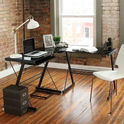 Wrought Studio Computer Desk Shape Desks