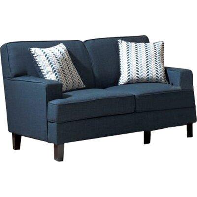 Mercury Row Loveseat Linen Sofas