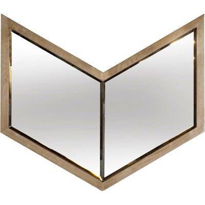 Mercury Row Oak Wood Wall Mirror Natural Mirrors
