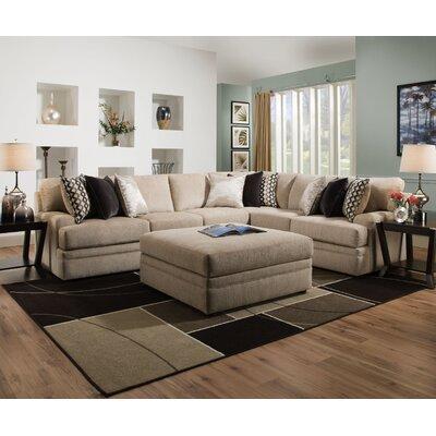 Latitude Run Upholstery Sectional Simmons Corner Sofas