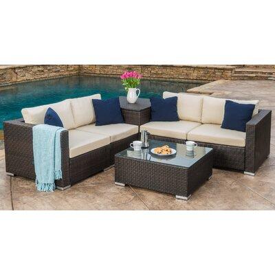 Mercury Row Seating Group Cushions Rattan Conversation Sets