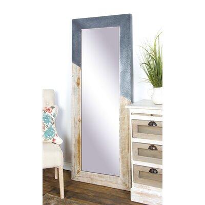 Rectangular Framed Full Mirror Rustic 7504 Product Image