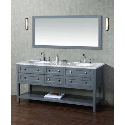 Brayden Studio Modern Bathroom Vanity Set Mirror Double Vanities