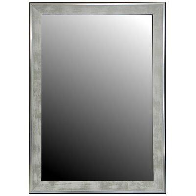 Wade Logan White Trim Full Mirror Wash Mirrors