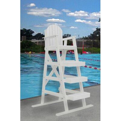 Frog Furnishings Adirondack Chair White