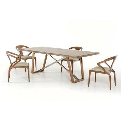 Corrigan Studio Olson Dining Table Bend Dining Tables