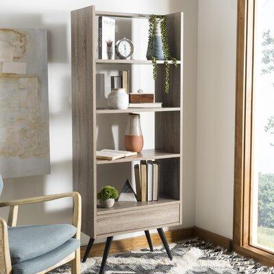 Corrigan Studio Wood Bookcase Retro Bookcases