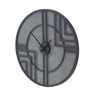 Corrigan Studio Round Analog Wall Clock Tabatha Wall Clocks