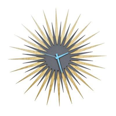 Langley Street Wall Clock Atomic Wall Clocks