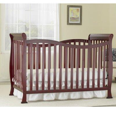 Baby Time Big  Convertible Crib Cherry