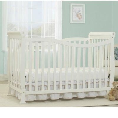 Baby Time Big  Convertible Crib White
