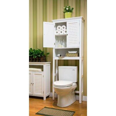 Glitzhome Toilet Over Bathroom Storage