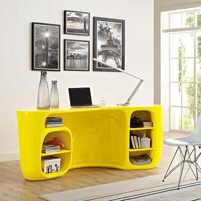 Modway Executive Desk Yellow