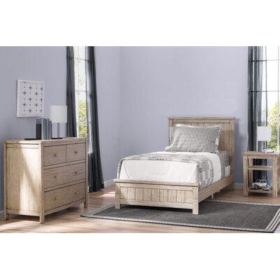 Delta Children Twin Panel Configurable Bedroom Set Rustic Driftwood