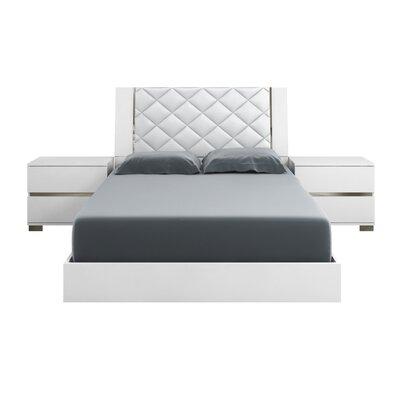 Casabianca Upholstered Platform Bed Queen
