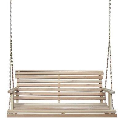 Loon Peak Porch Swing Traditional Swing Seats