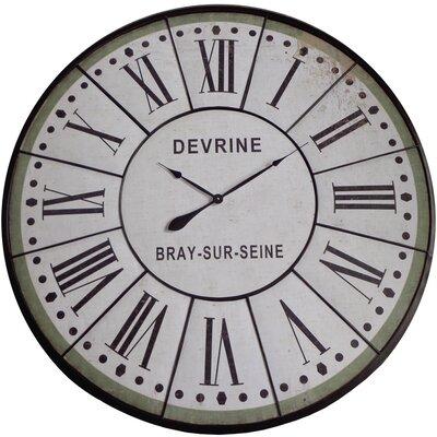 August Grove Wall Clock Oversized Wall Clocks