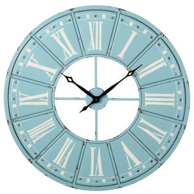 One Allium Way Numeral Wall Clock Roman Wall Clocks