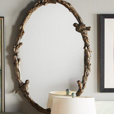 One Allium Way Mirror Oval Mirrors