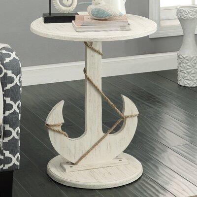 Barlow Nautical Anchor End Table | 50 Nautical Inspired Ideas For Home Decor | Inexpensive Nautical Decor | DIY Home Decor | theMRSingLink