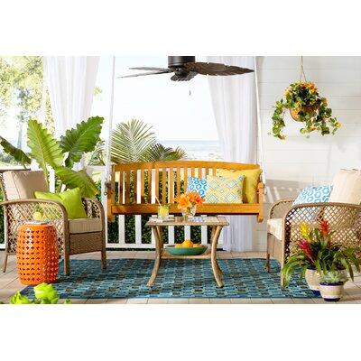 Beachcrest Home Porch Swing Teak Swing Seats