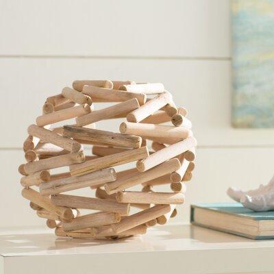 Beachcrest Home Wood Ball Oak Furniture