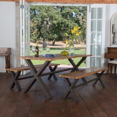 Loon Peak Wood Dining Set Acacia Dining Tables Sets