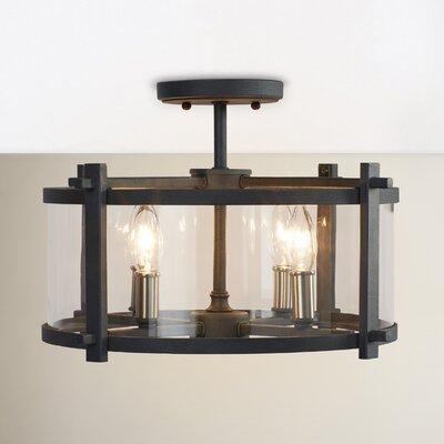 Trent Austin Design Light Semi Flush Mount Valley Lighting