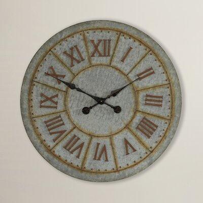 Trent Austin Design Wall Clock Galvanized Wall Clocks