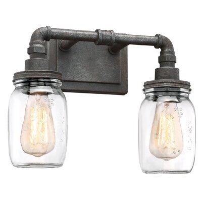 Trent Austin Design Black Light Vanity Light Rustic Vanity Lighting