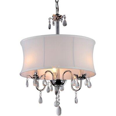 Fanning Light Drum Chandelier 296 Product Image