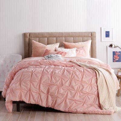 House Of Hampton Smocked Comforter Set Check Bedsding