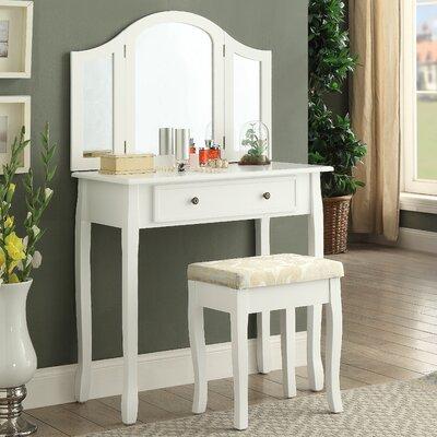 Vanity Set Mirror Wooden 68802 Product Image
