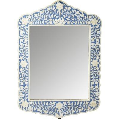Mistana Bone Inlay Wall Mirror Botanic Mirrors