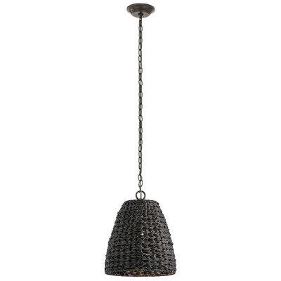 Mistana Wicker Outdoor Pendant Light Hanging Lights