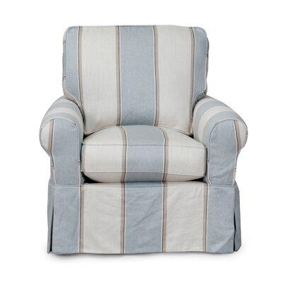 Beachcrest Home Gables Swivel Armchair