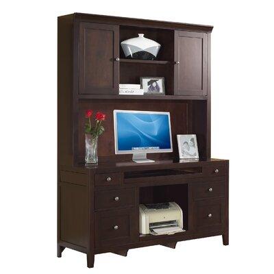 Desk Hutch Cherry Credenza 2460 Product Image