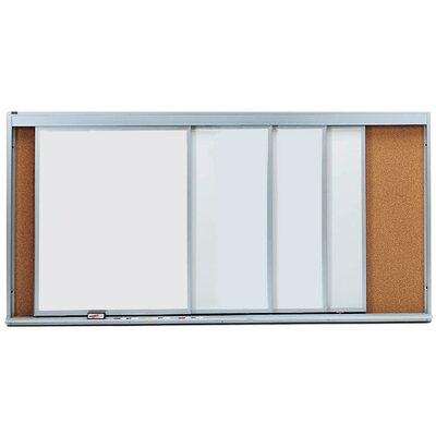 Horizontal Sliding Unit Whiteboard