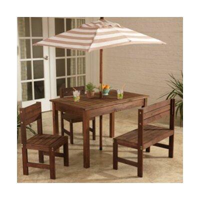 Writing Table Chair Set Rectangular 4195 Product Image