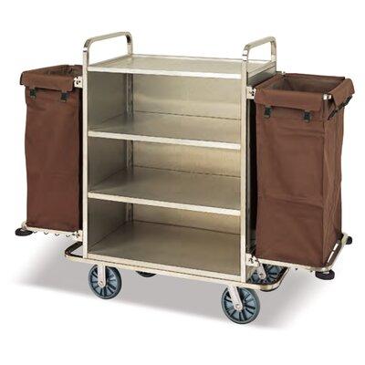 Cosmopolitan Steel Housekeeping Utility Cart Product Image